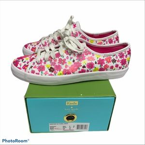 Kate Spade floral Keds size 9 brand new